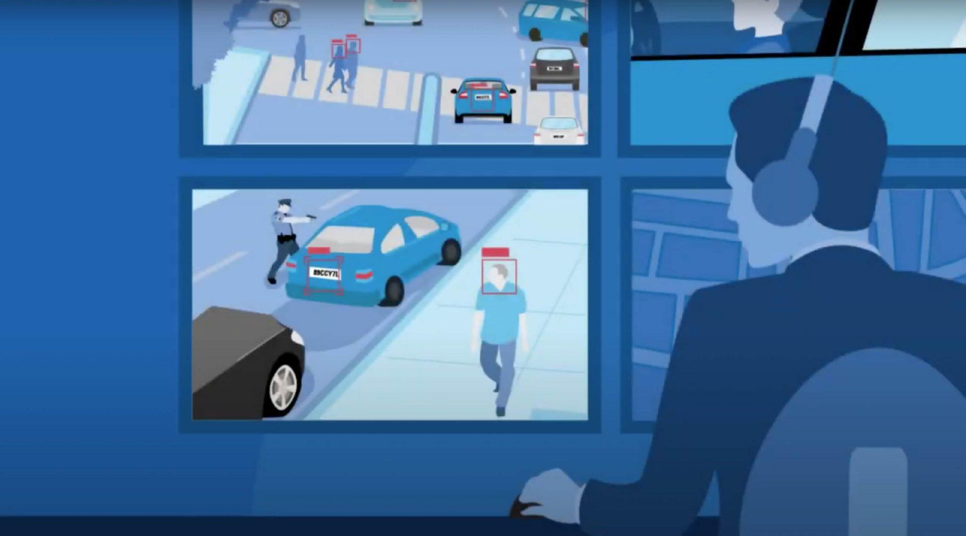 public safety software video screenshot