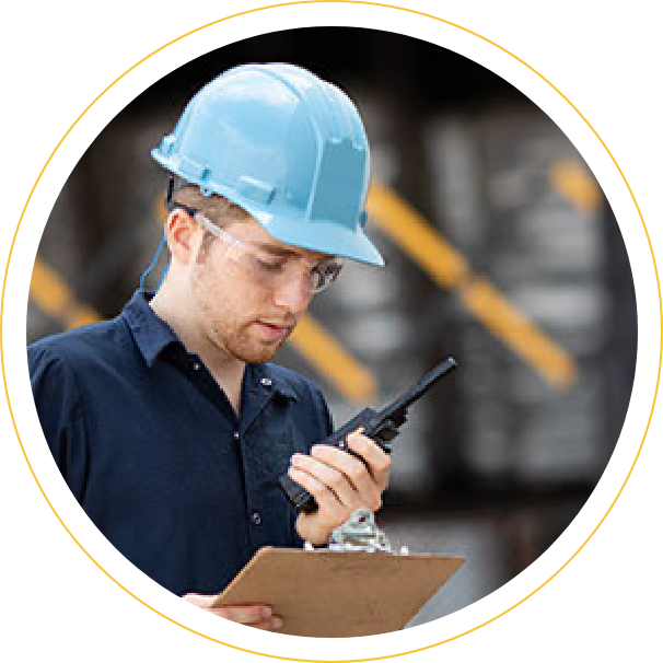 communication with two-way radios
